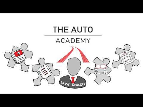 The Auto Academy  Sales Video