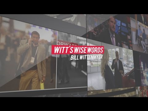 Witt's Wise Words - The Importance of Time