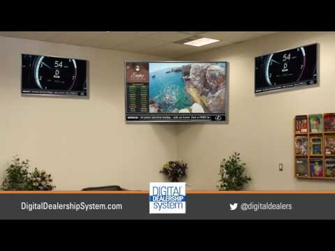 Customer Lounge TV Solutions for the Modern Car Dealer
