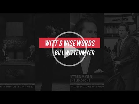 Witt's Wise Words - The Interview Process