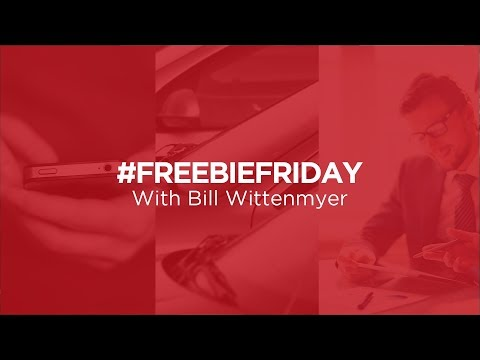 Freebie Fridays: Put the Conversation Back In the Sale with Bill Wittenmyer