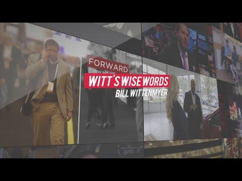 Witt's Wise Words - Video Sells