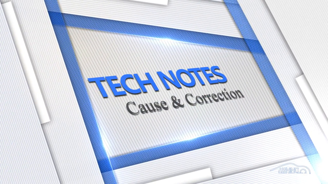 Tech Notes - Cause and Correction