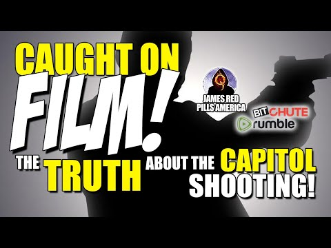 CAUGHT ON FILM!  Capitol SH00TER Video Surfaces, Shows The REAL SH00TER!  Is It Who We Were Told?!
