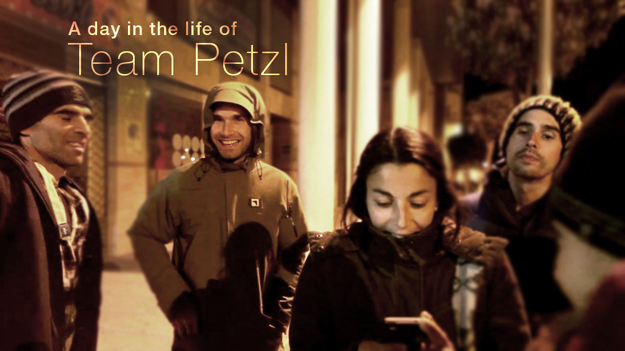 A day in the life of Team Petzl in Spain