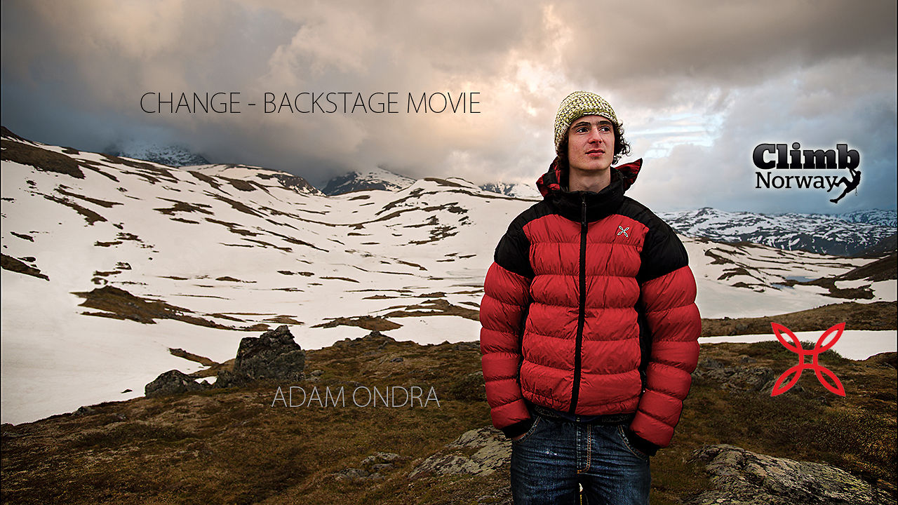 Adam Ondra - Change - Backstage movie