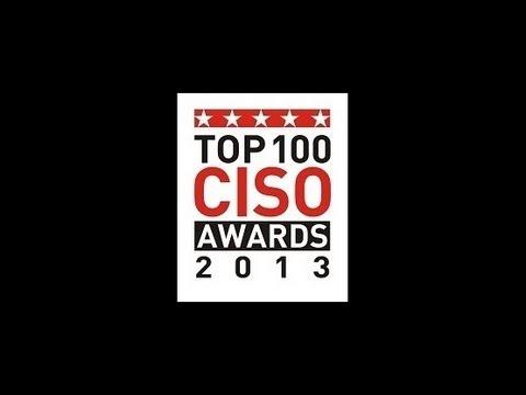 Top 100 CISO Awards, 2013 - Awards Distribution