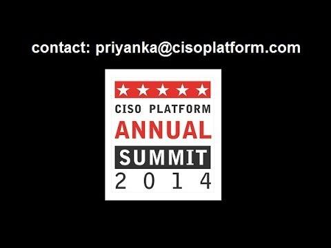 CISO Speak - CISO Platform Annual Summit