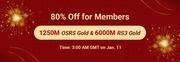 RSorder Members-Only 80% Off Sale