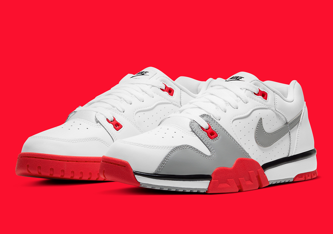 "The Nostalgic ""Infrared"" Appears On The Nike Cross Trainer Low"