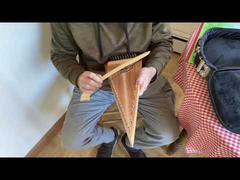 Song of the Woods Bowed Psaltery, first attempts