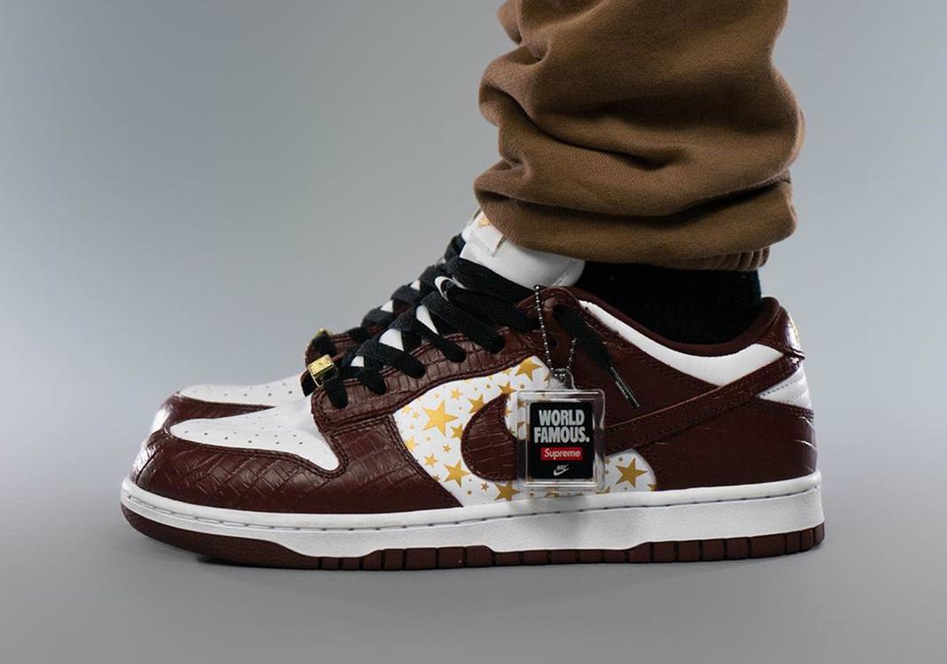 Official Images: Supreme x Nike SB Dunk Low Barkroot Brown