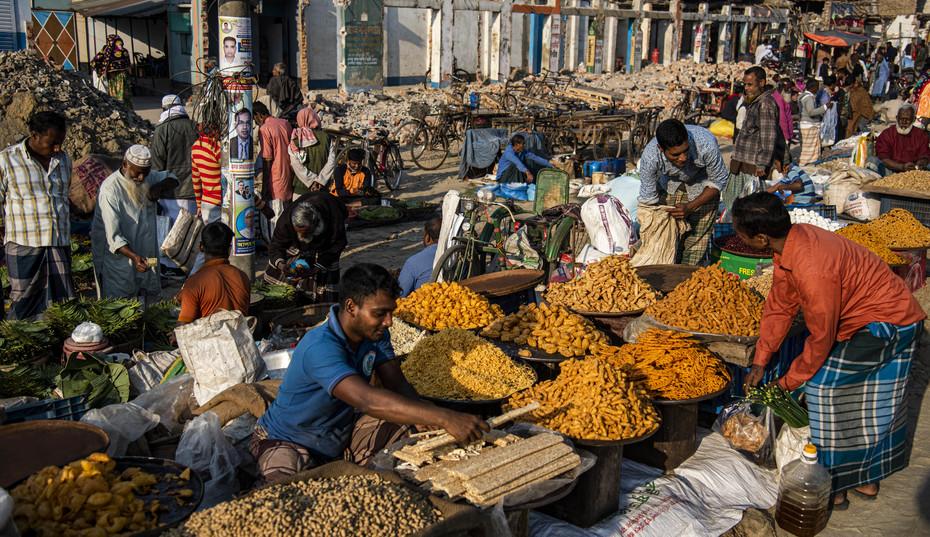 In a Bazar