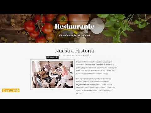 Cómo crear una página web gratis en 7 minutos    Con diseño de 2020