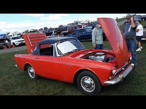 Classic Car Shopping With Pam 1965 Sunbeam Alpine At the 2020 Fall Carlisle Car Corral