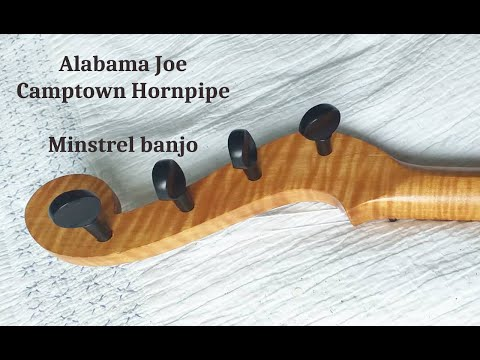 Alabama Joe and Camptown Hornpipe minstrel banjo. Briggs Banjo Instructor of 1855.