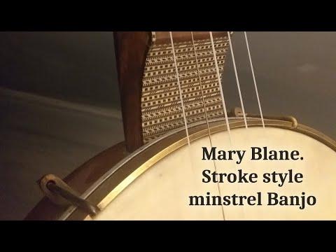 Mary Blane, minstrel banjo