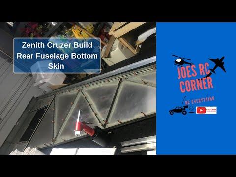 Zenith Cruzer Build: Fuselage Bottom Rear Skin
