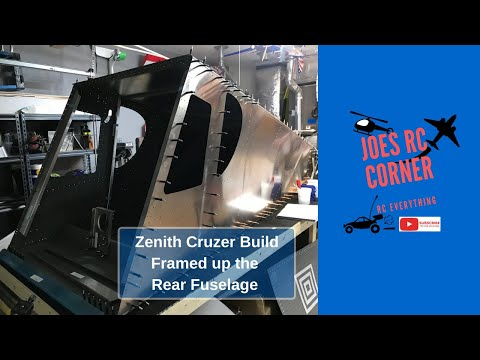 Zenith Cruzer Build: Framed up the Rear Fuselage