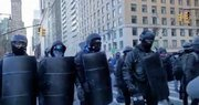 ANTIFA is marching the streets in NYC in Riot Gear