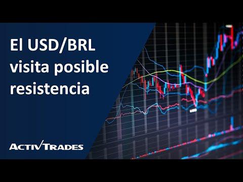 El USD/BRL visita posible resistencia