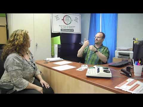 Association du Syndrome de Usher du Québec (Daniel Deschênes)