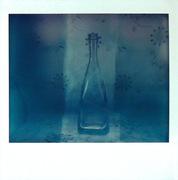 Bottiglie in blu