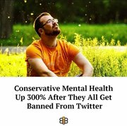 Conservatives Benefitting from Twitter Ban