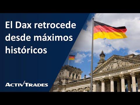 Video Análisis: El DAX retrocede desde máximos históricos