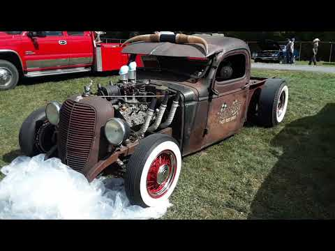 1939 Ford Truck Rat Rod In the 2020 Fall Carlisle Car Corral