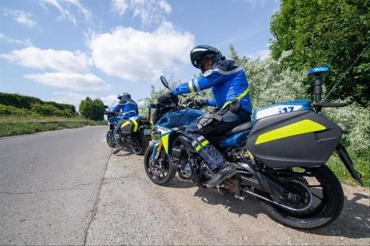 Accouchement et excès de vitesse: la belle histoire d'une patrouille française
