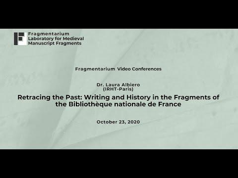 "Laura Albiero, ""Retracing the Past"" (Fragmentarium Video Conference)"