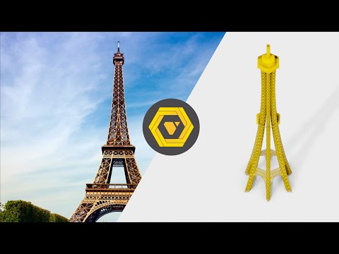 How to build the Parametric Eiffel Tower - GH Timelapse
