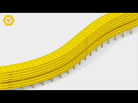 How to make the Parametric Pedregulho Housing Complex - GH Tutorial/Timelapse