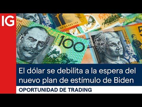 El dólar se debilita a la espera del nuevo plan de estímulo de Biden | Oportunidad de trading