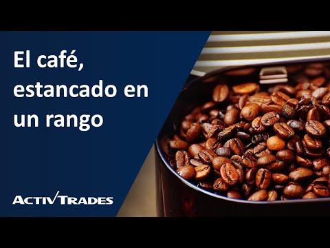 El café, estancado en un rango