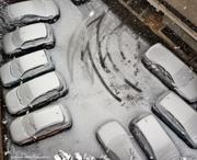 Χιόνι στον ακάλυπτο