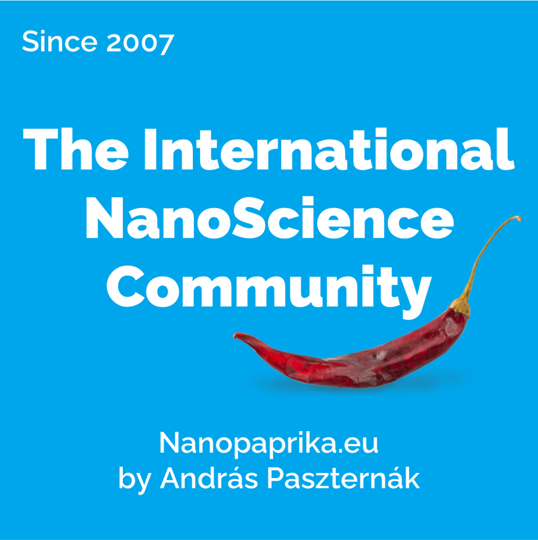 The International NanoScience Community - Nanopaprika.eu Logo