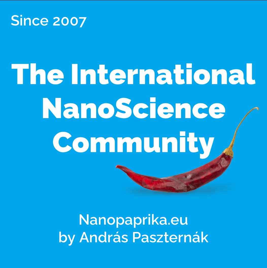 The International NanoScience Community - Nanopaprika.eu Logo