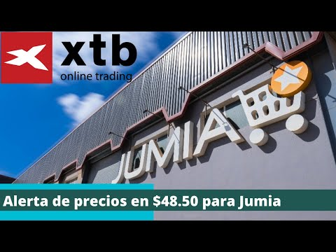 Alerta de precios en $48.50 para Jumia