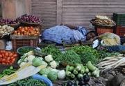 Sleeping Produce Vendor