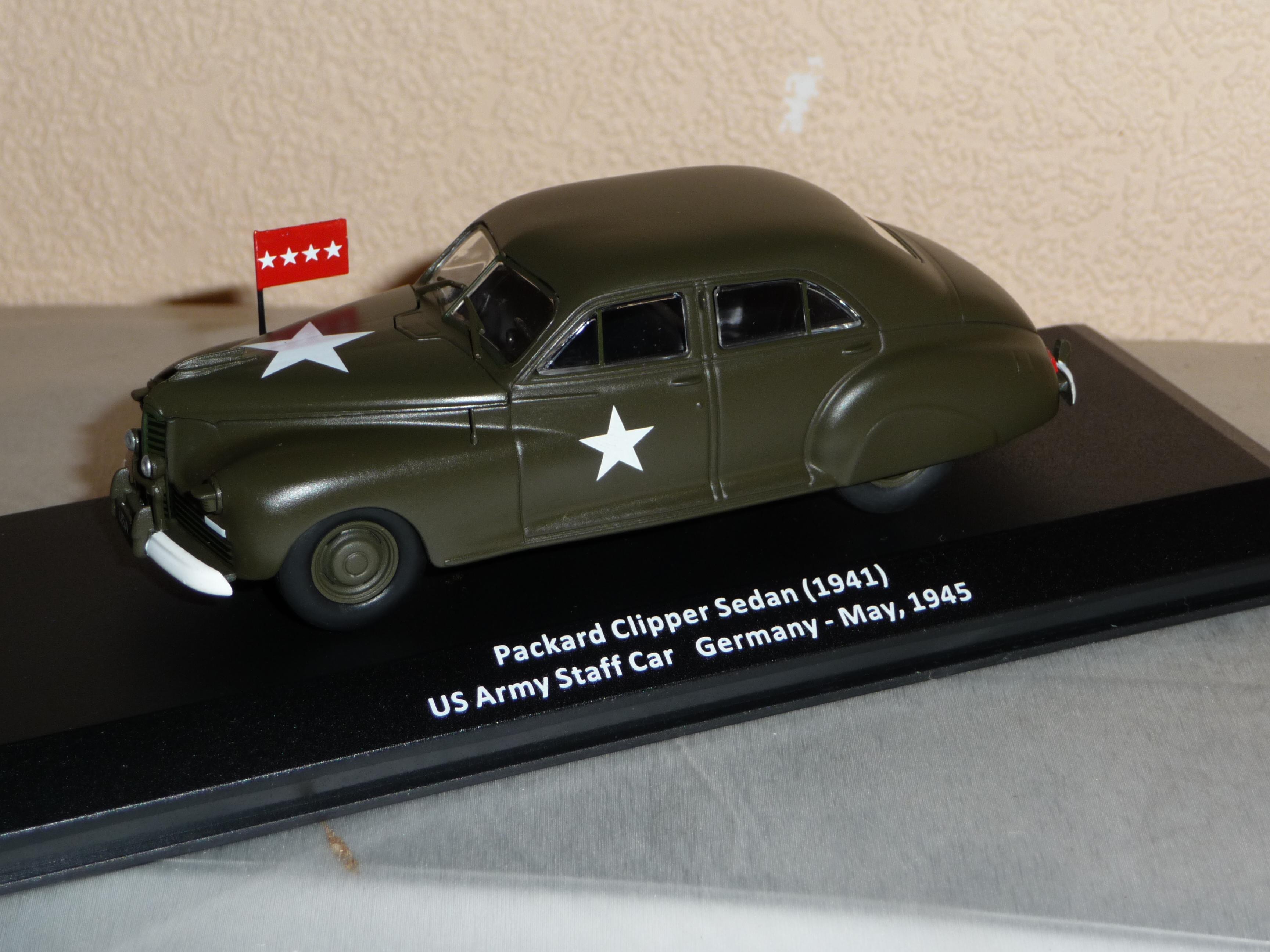Packard Clipper Sedan Staff Car