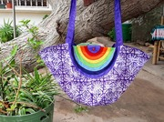 Regenbogentasche