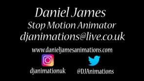 Daniel James Animation Showreel 2020