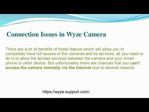 How does Wyze react to Troubleshoots?