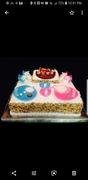 Boy & Girl Baby Shower Cake