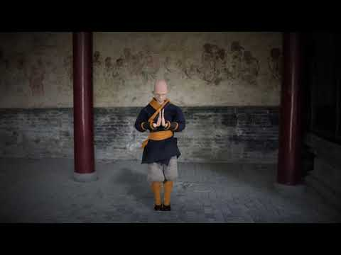 Shaolin Monk puppet TEST
