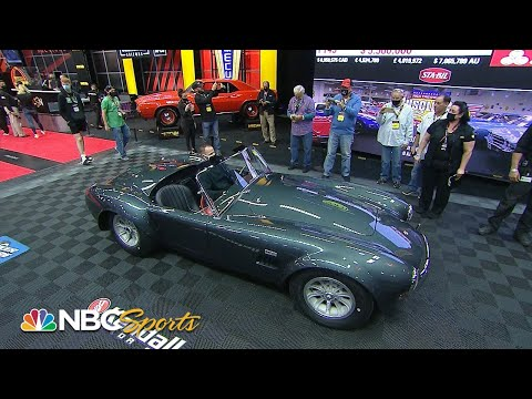 Mecum Kissimmee: Carroll Shelby's '65 Shelby 427 Cobra Roadster sells for $5.4M | Motorsports on NBC