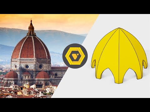 Grasshopper Tutorial: How to Make, Move and Scale a Parametric Gothic Dome