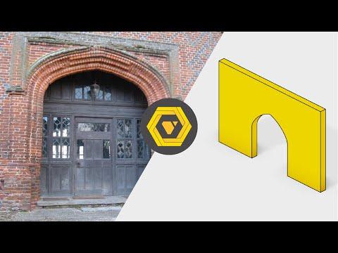 Grasshopper Tutorial: How to Make and Position a Parametric Tudor Arch - Part I